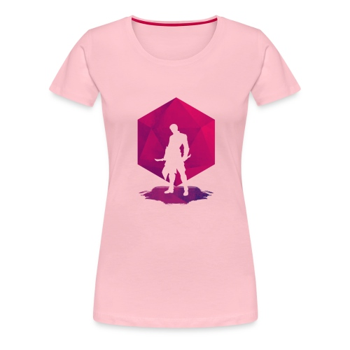 Varjo-salamurhaaja - Dungeons and Dragons d20 - Naisten premium t-paita