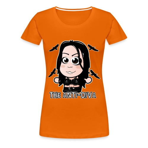 Chibi Paige - The Anti-Diva Shirt - Women's Premium T-Shirt