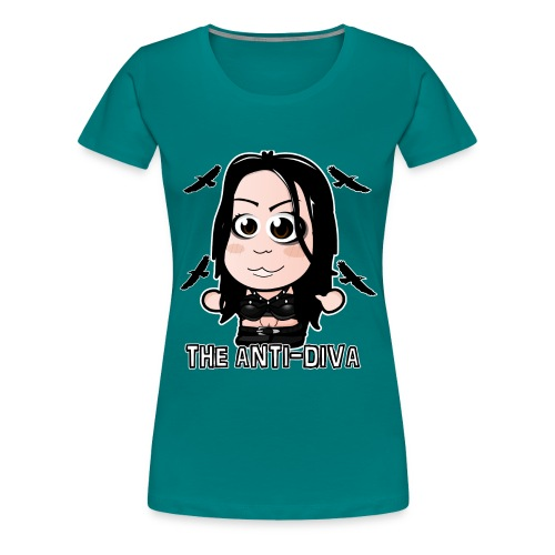 Chibi Paige - The Anti-Diva Shirt - Women's Premium T-Shirt