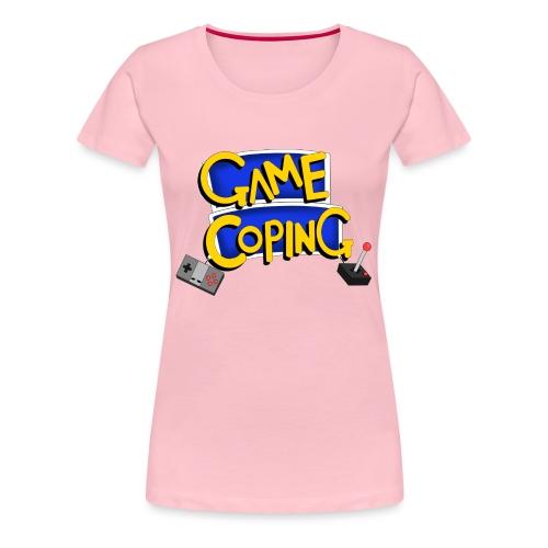 Game Coping Logo - Women's Premium T-Shirt