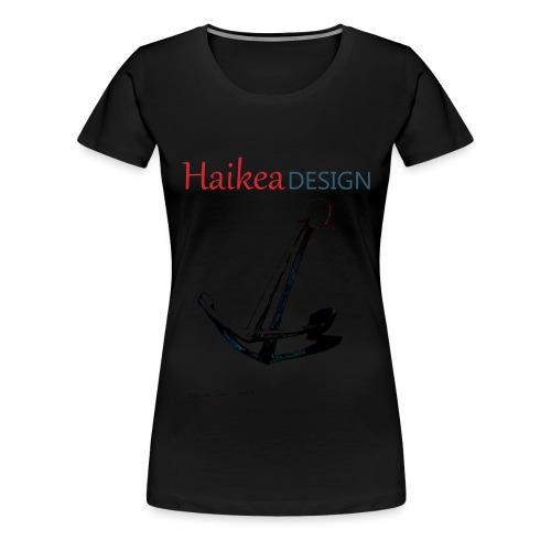 Ankkurikassi - Naisten premium t-paita