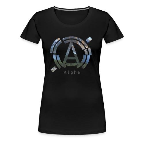 AlphaOfficial Logo T-Shirt - Women's Premium T-Shirt