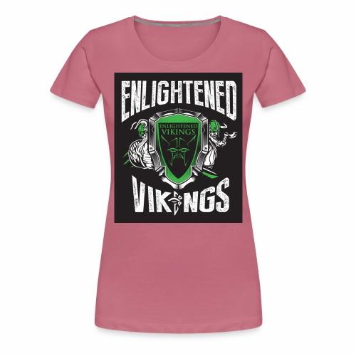 Enlightend Vikings - Premium T-skjorte for kvinner