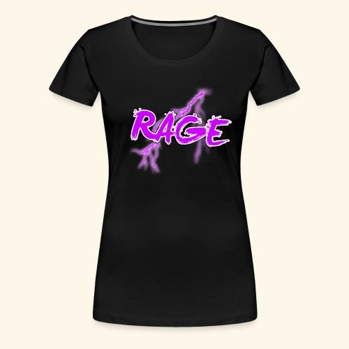 Logo rage - T-shirt Premium Femme