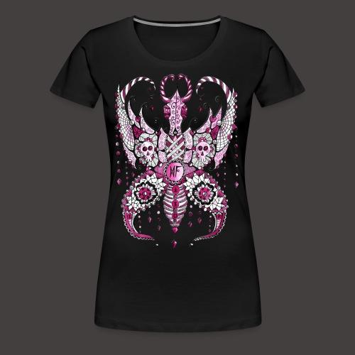Papillon Lilou Rose - T-shirt Premium Femme