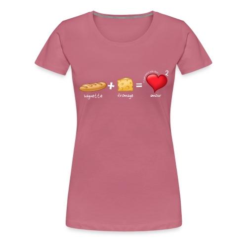 bread cheese boopee white - Women's Premium T-Shirt