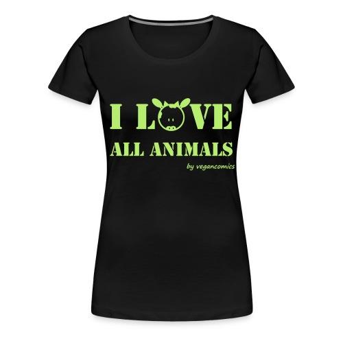 iloveall - Frauen Premium T-Shirt
