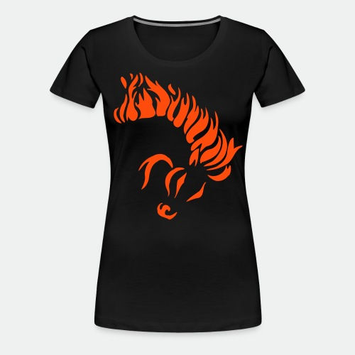 Horse of Fire - Women's Premium T-Shirt