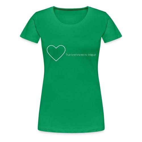 Love Quote - Premium T-skjorte for kvinner