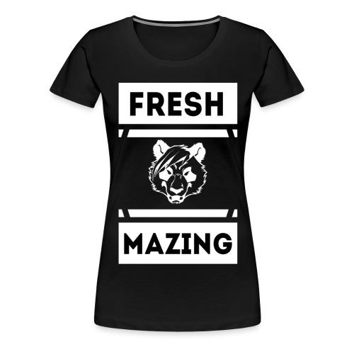 PNK Freshmazing - Frauen Premium T-Shirt