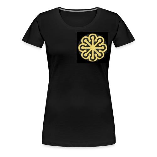 BGLogoGOLD - Women's Premium T-Shirt