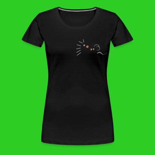 Igel und Maus abstrakt - Frauen Premium T-Shirt