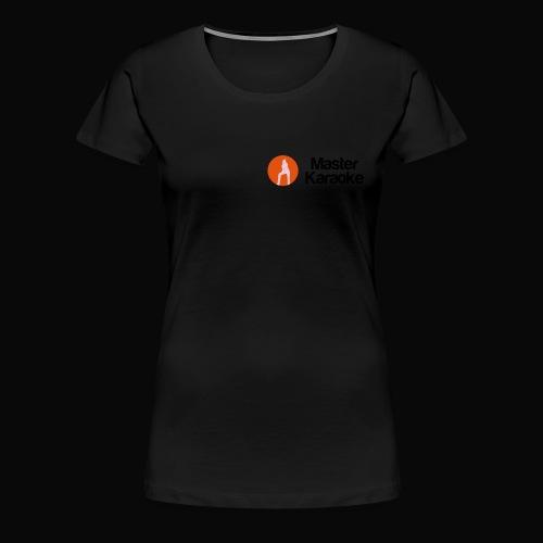 Master Karaoke Logo 2015a - Frauen Premium T-Shirt