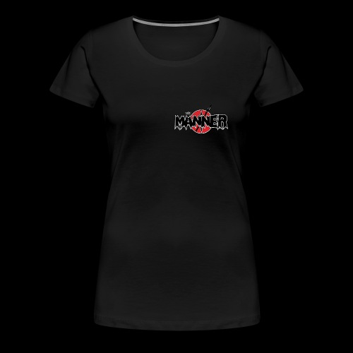 LogoKroneWeiss - Frauen Premium T-Shirt
