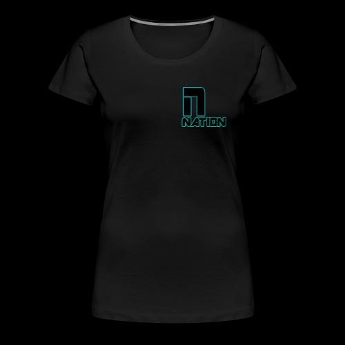 nation - Women's Premium T-Shirt