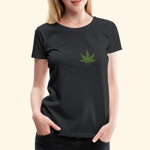 Weed leave 20x20 - T-shirt Premium Femme