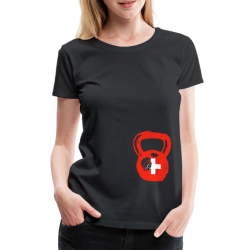 Kettlebell Nation - Frauen Premium T-Shirt