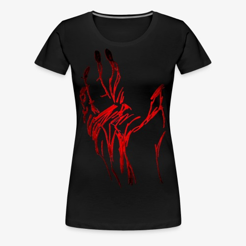 Hand - Frauen Premium T-Shirt
