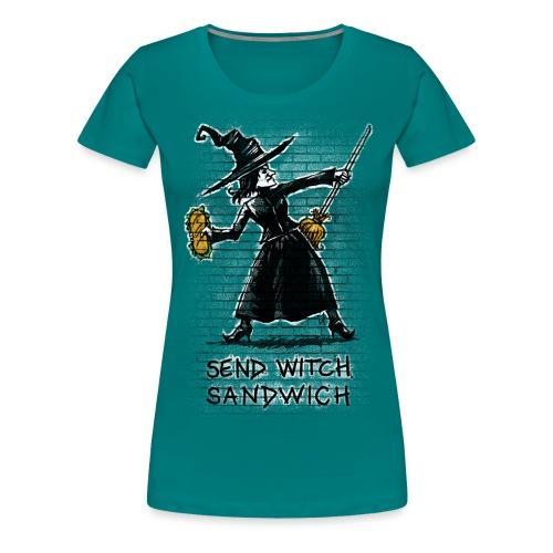 Send Witch Sandwich - Women's Premium T-Shirt