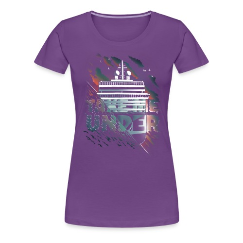 takemeunder-tshirt-motiv3 - Dame premium T-shirt