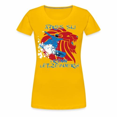 asfl2016_sb - Frauen Premium T-Shirt
