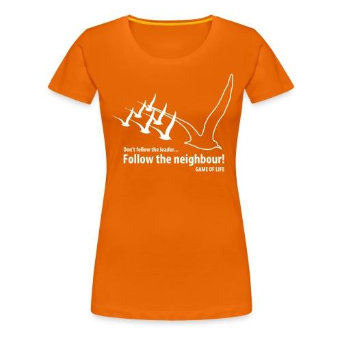 new emergence - Vrouwen Premium T-shirt