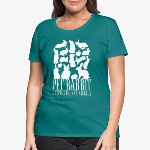 Pet Rabbit - Naisten premium t-paita