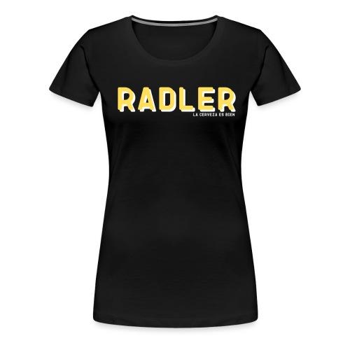 RADLER - Camiseta premium mujer