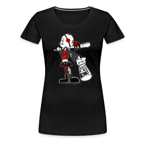 Sweetie mit Asselbräu (für dunkle Kleidung) - Frauen Premium T-Shirt