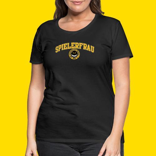 Puckbusters Spielerfrau Design - Frauen Premium T-Shirt