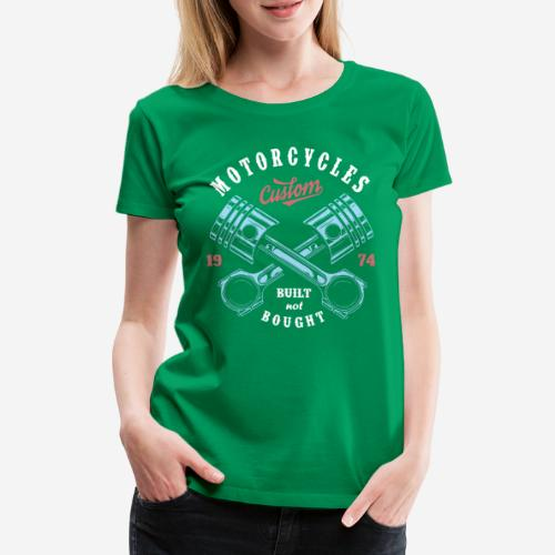 Original Custom Bike Motorräder - Frauen Premium T-Shirt