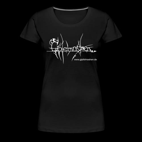 gipfelmoshen wwwregular pfad - Frauen Premium T-Shirt