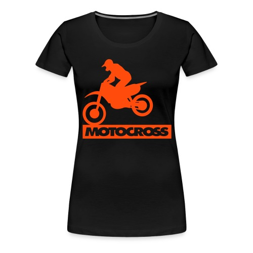 Motocross 2 - Frauen Premium T-Shirt