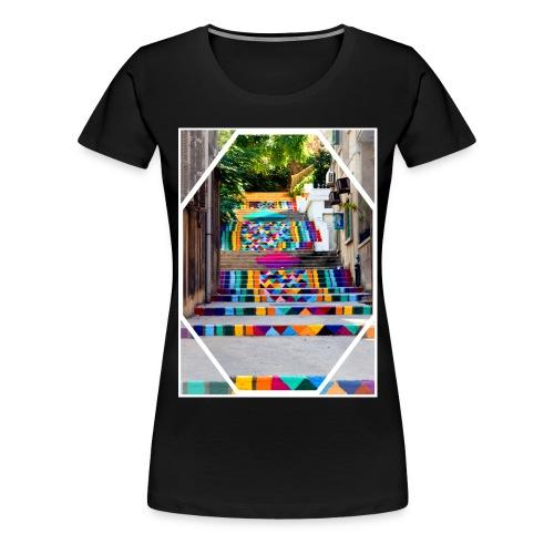 STAIRS - T-shirt Premium Femme