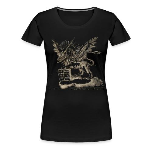 lionblc png - T-shirt Premium Femme