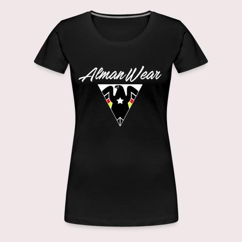 ALMAN WEAR ADLER MIT STERN DEUTSCHER DEUTSCHLAND - Frauen Premium T-Shirt