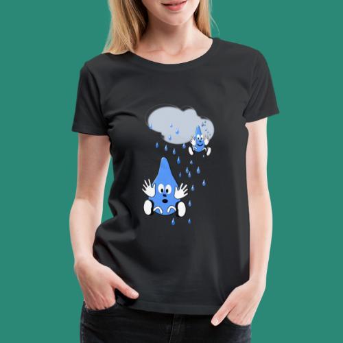 Regen,Regen - Frauen Premium T-Shirt