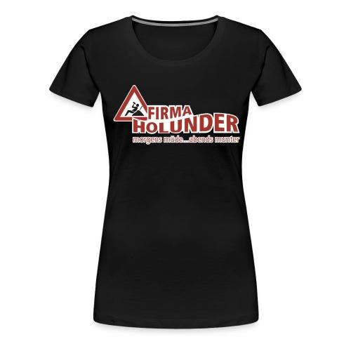 logo komplett kopie - Frauen Premium T-Shirt