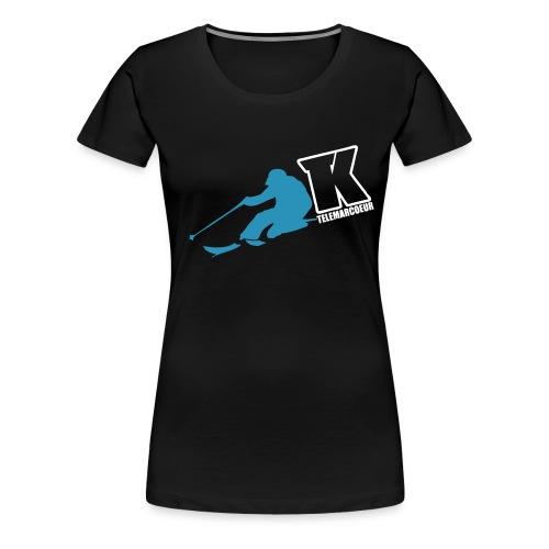 2017 TK TELEMARCOEUR TELEMARK BRAND - T-shirt Premium Femme