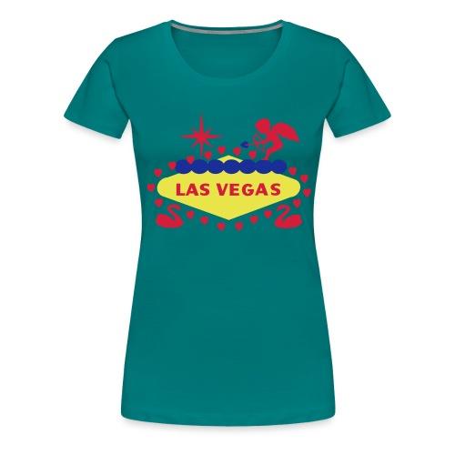 Valentine's Day in Las Vegas - Women's Premium T-Shirt