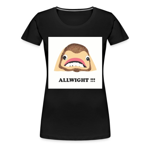 jpeg_chin_allwight - Women's Premium T-Shirt