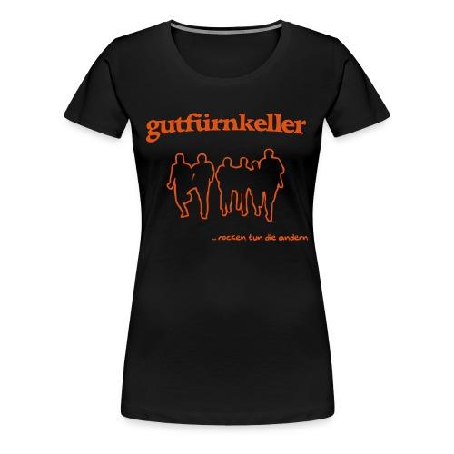 rocken tun die andern - Frauen Premium T-Shirt
