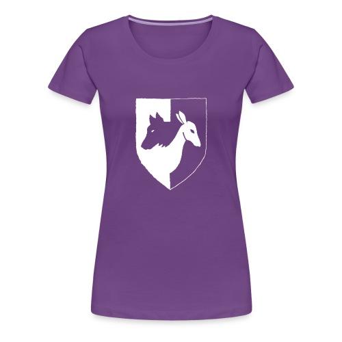 Pyhävuori pelkkä häälogo - Naisten premium t-paita