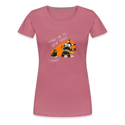 black - Women's Premium T-Shirt