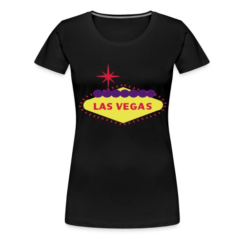 create your own LAS VEGAS products - Women's Premium T-Shirt
