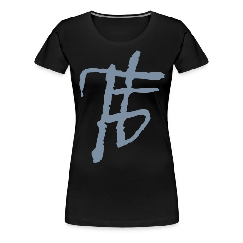 finstertanz_Logo - Frauen Premium T-Shirt