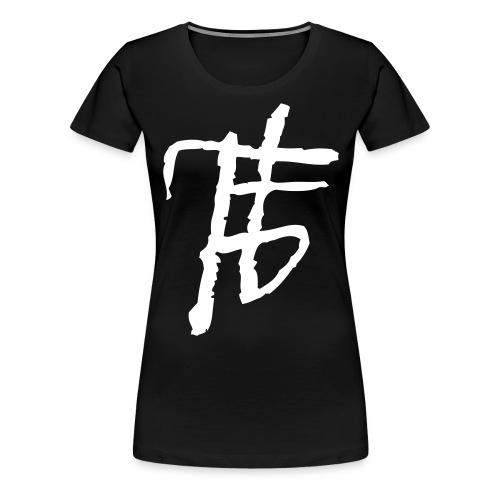 finstertanz_Logo - Frauen Premium T-Shirt