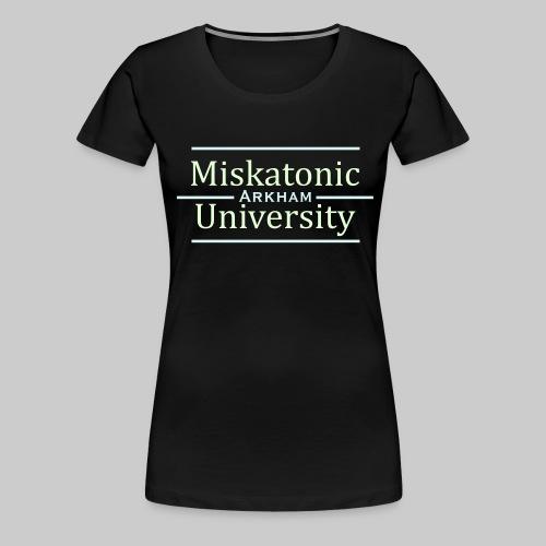 MJKv1: Miskatonic University - Arkham - Women's Premium T-Shirt