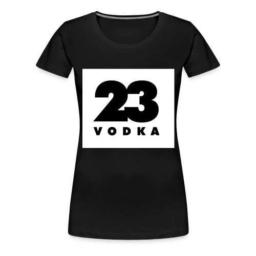 vodka23pixel - Frauen Premium T-Shirt