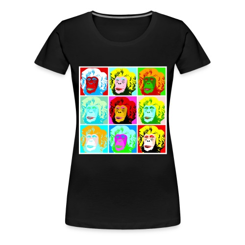 Monkey Monroe - Frauen Premium T-Shirt